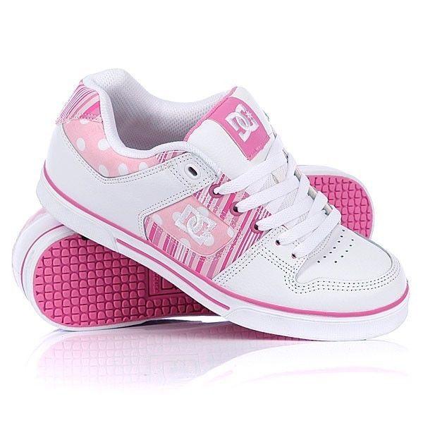 DC Pure Se Ladies Shoe White Pink womens size 6 7 8 8ff0603f4c
