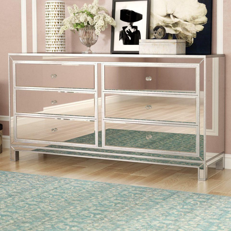 Best President S Day Sales On Home From Wayfair Furniture Mirrored Bedroom Furniture Drawer Nightstand [ 960 x 960 Pixel ]