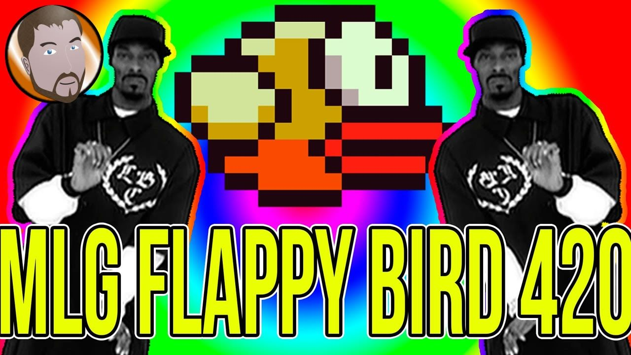 MLG Flappy Bird 420   Why Does This Game Get Played    Youtube     MLG Flappy Bird 420   Why Does This Game Get Played