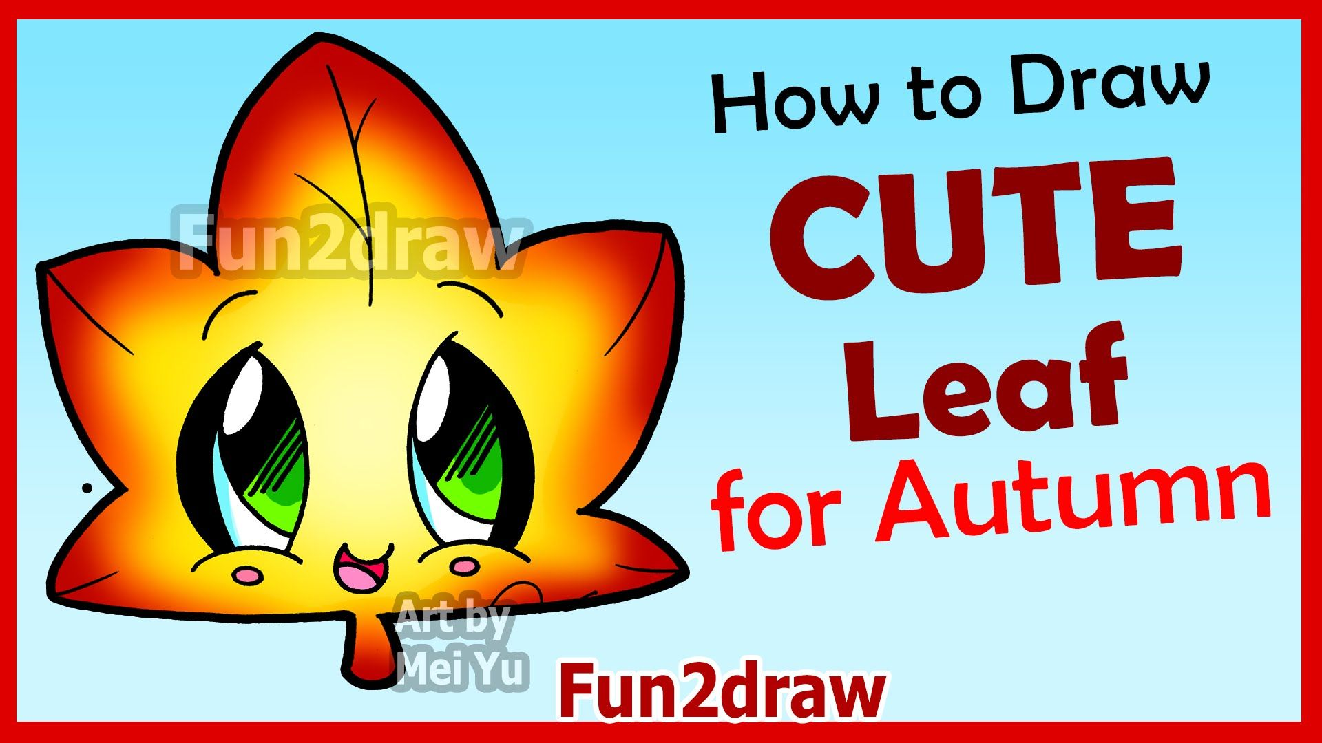 How To Draw Cute Autumn Maple Leaf Easy Step By Step Drawings For Begi Can You Draw Nail