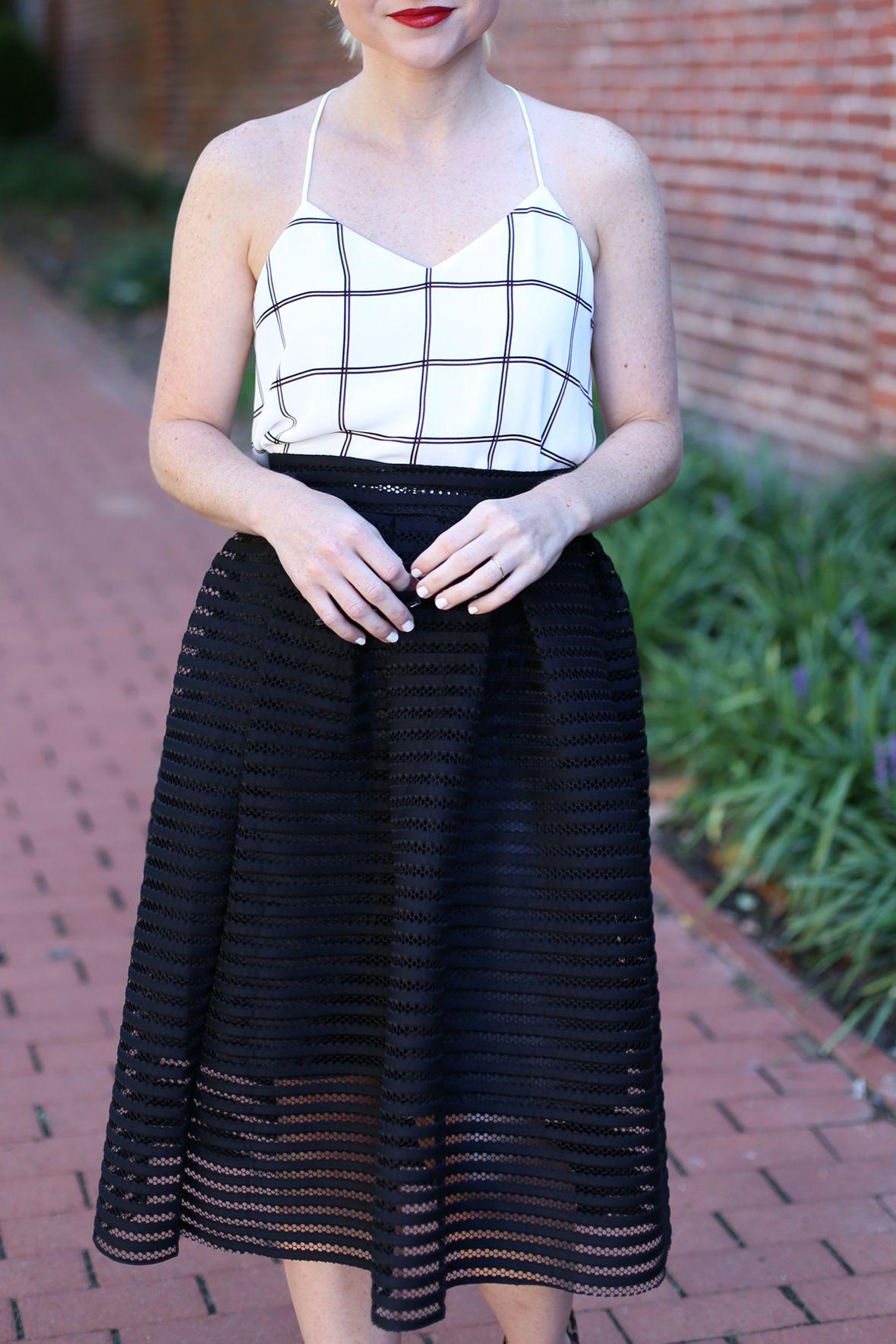 Black Midi Skirt on Poor Little It Girl - @poorlilitgirl