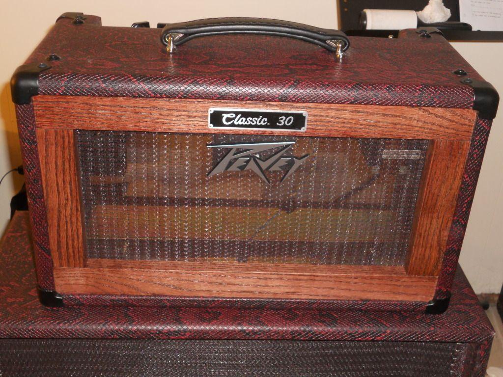 Peavey Classic Cabinet Peavey Classic 30 Conversion Diy Custom Amp Combo To Head