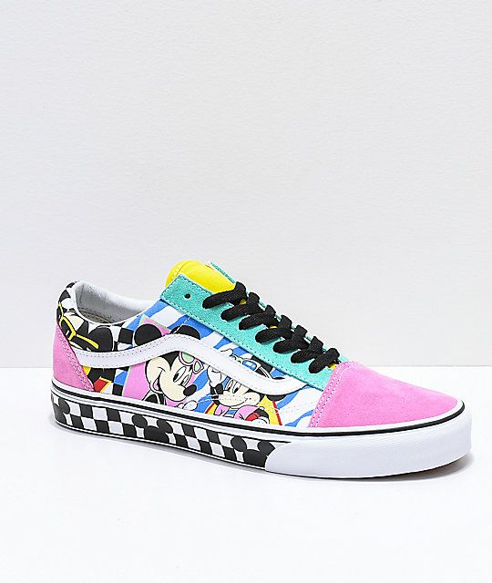 Disney by Vans Old Skool 80's Mickey Skate Shoes | Vans