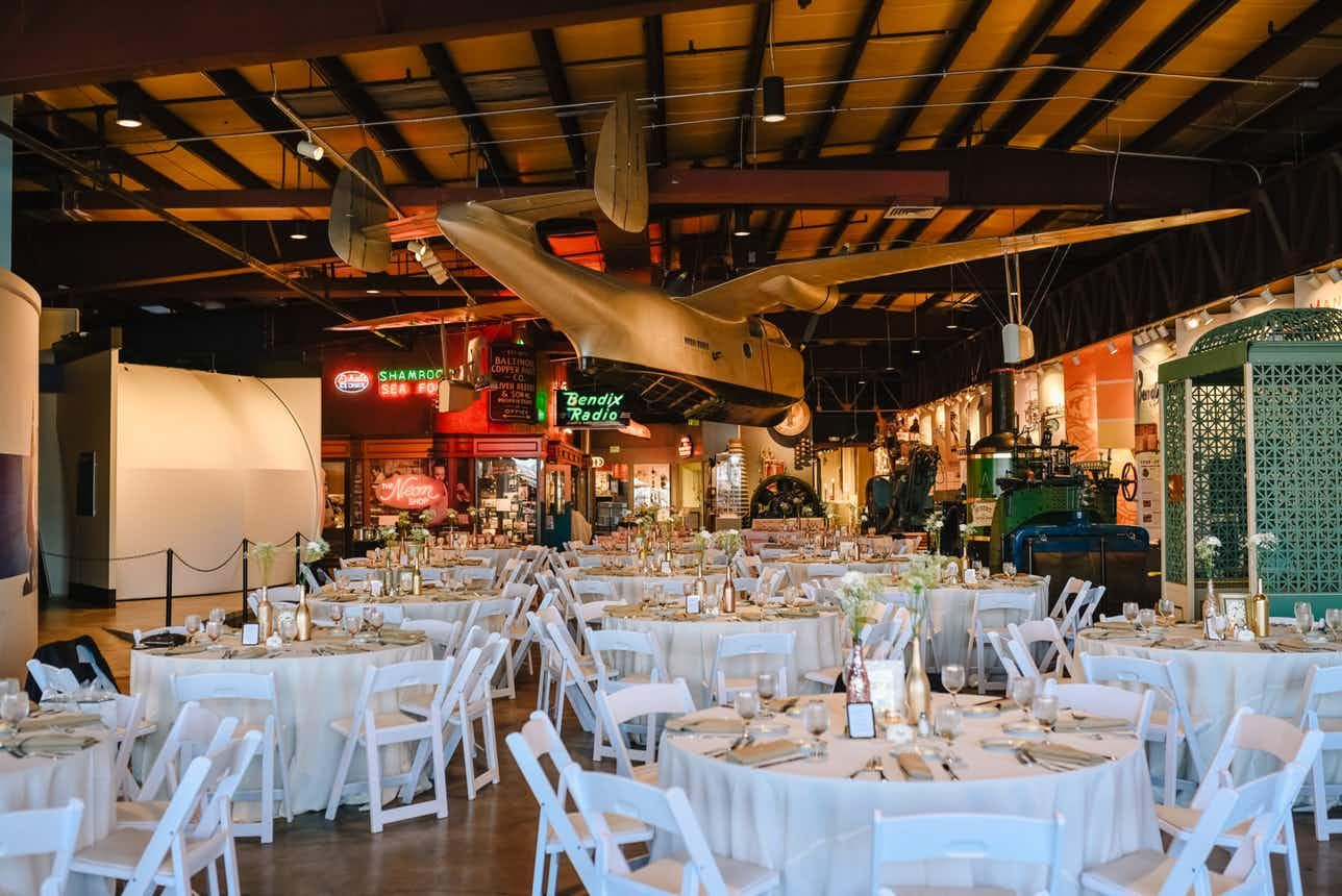 Baltimore Museum of Industry Maryland Wedding Venues