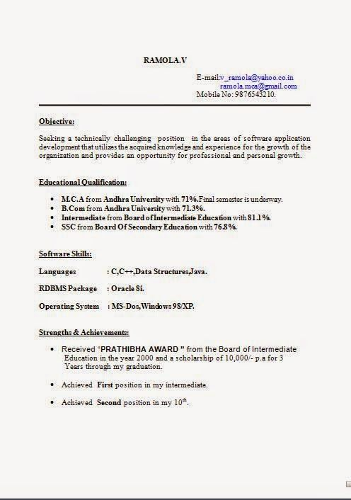 free online cv builder Sample Template Example of Excellent - how to format a resume in word