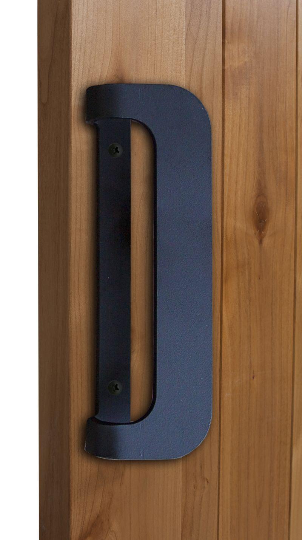 Industrial Reversible D Barn Door Handle Rustica In 2020 Barn Door Handles Door Handles Front Door Handles