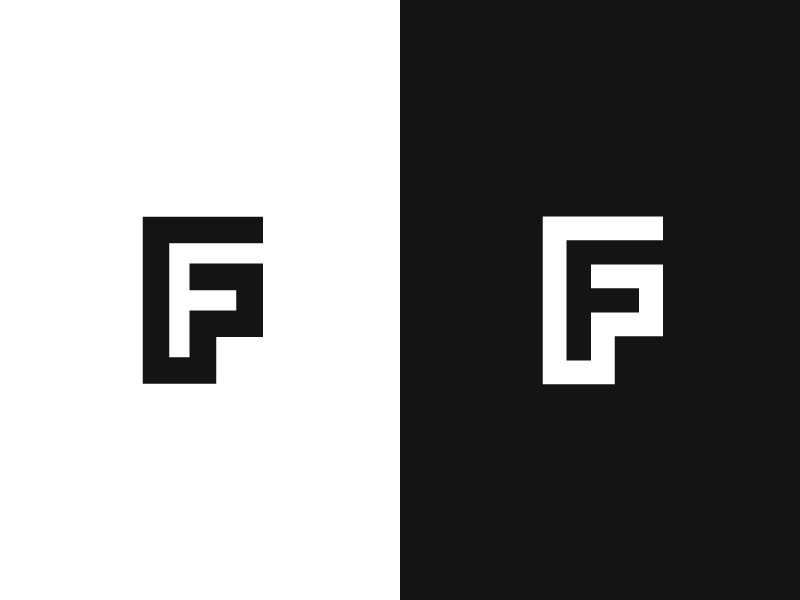 F Initials Logo Design Abbreviation Logo Graphic Design Logo