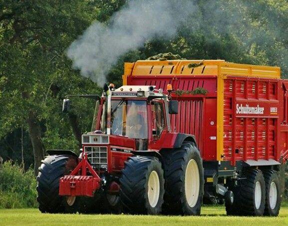 International 1455 Xl Tractor Landbouw Klassieke Auto S
