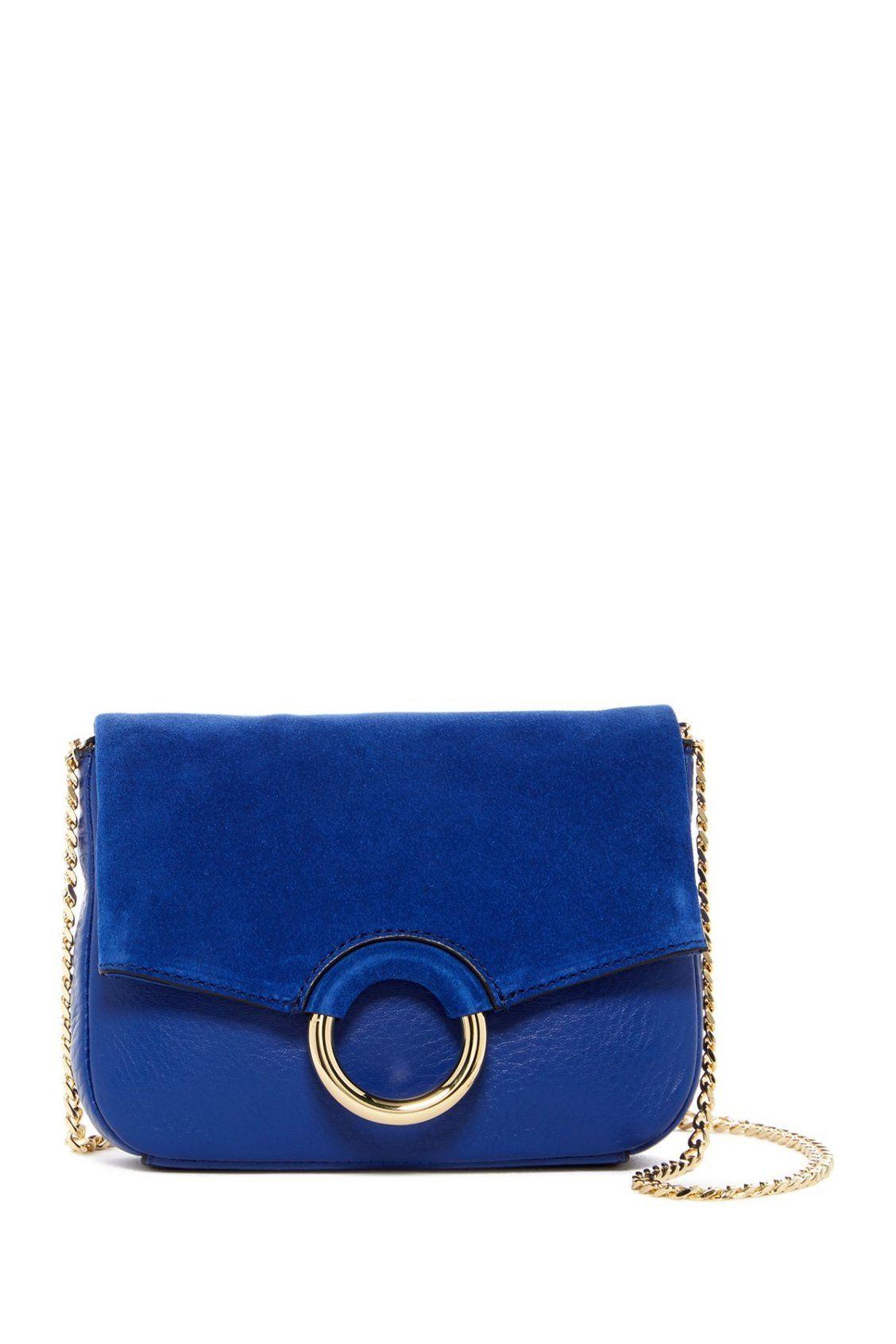 4c6c4aca9817 Beautiful Blue Vince Camuto Adina Leather Crossbody Bag