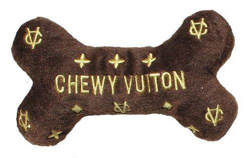 Chewy Vuiton Bone Plush Toy - Kelly perfect for the fishy!!