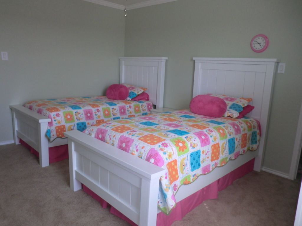 elegant white twin beds for girls httpkatrinahousingnetelegant - Girls Twin Bed Frame
