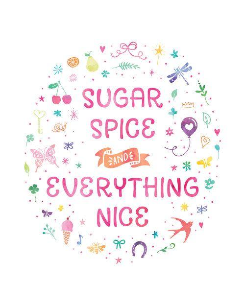 Printable Art Bedroom Quote Sugar