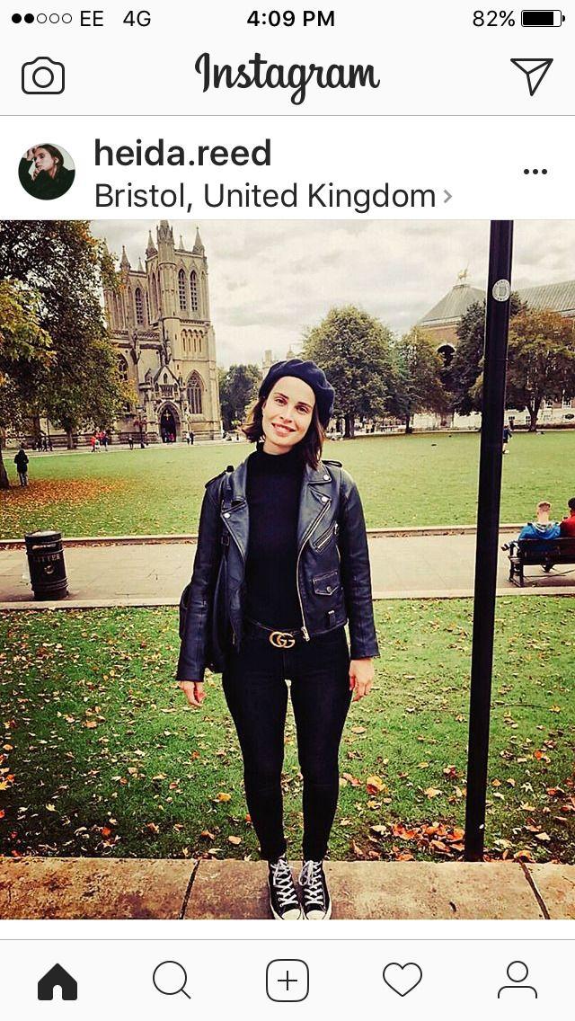 Heida Reed In Bristol Filming Poldark Season 4