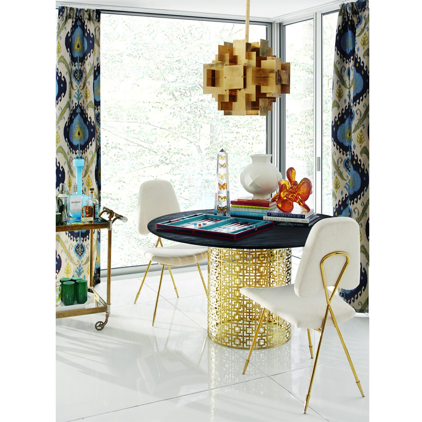 Modern lighting puzzle ceiling lamp chandelier jonathan adler puzzle chandelier by jonathan adler aloadofball Choice Image