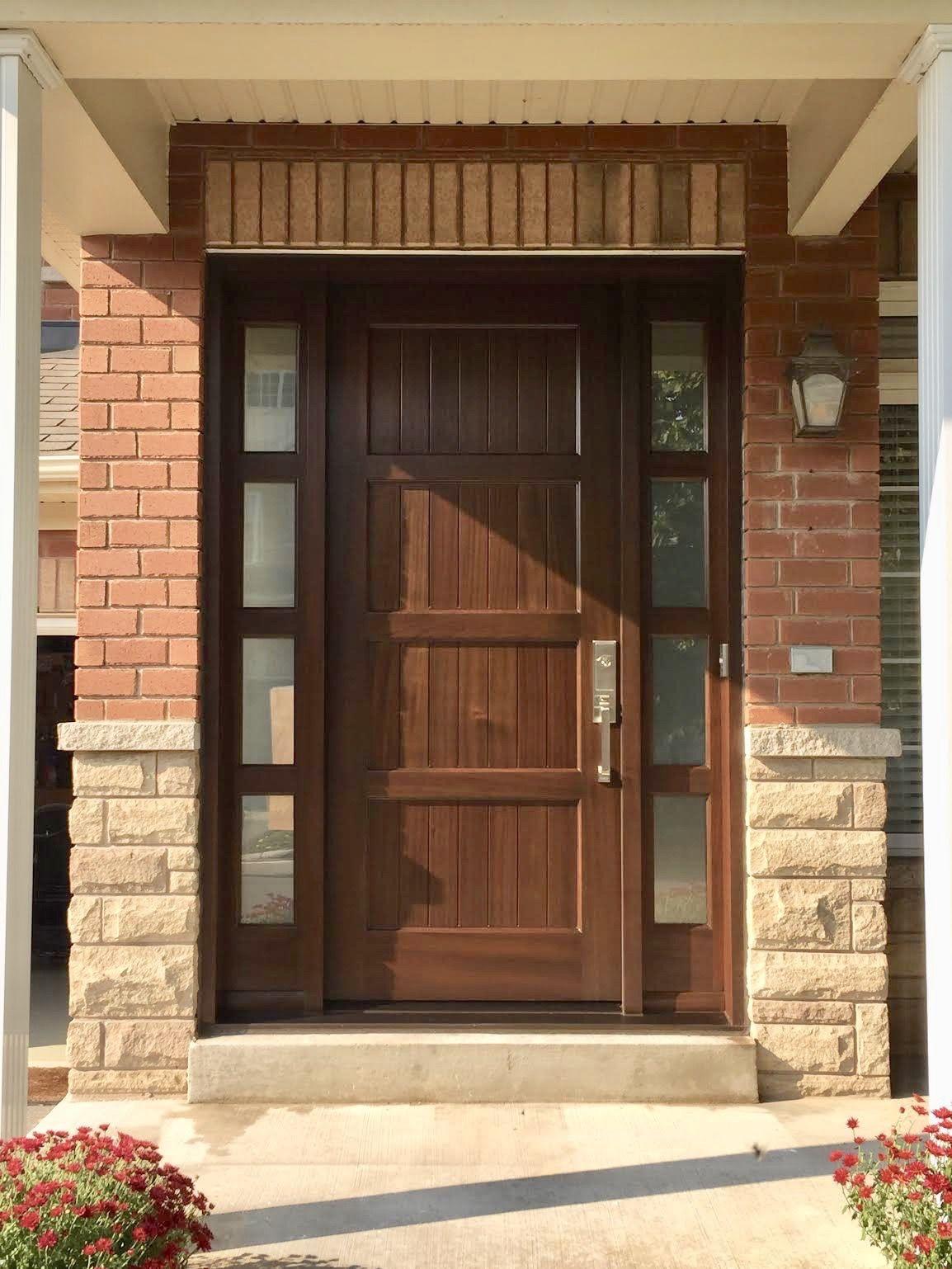 Amberwood Doors Inc: Spectacular *MODERN* #CustomMade #SolidMahogany