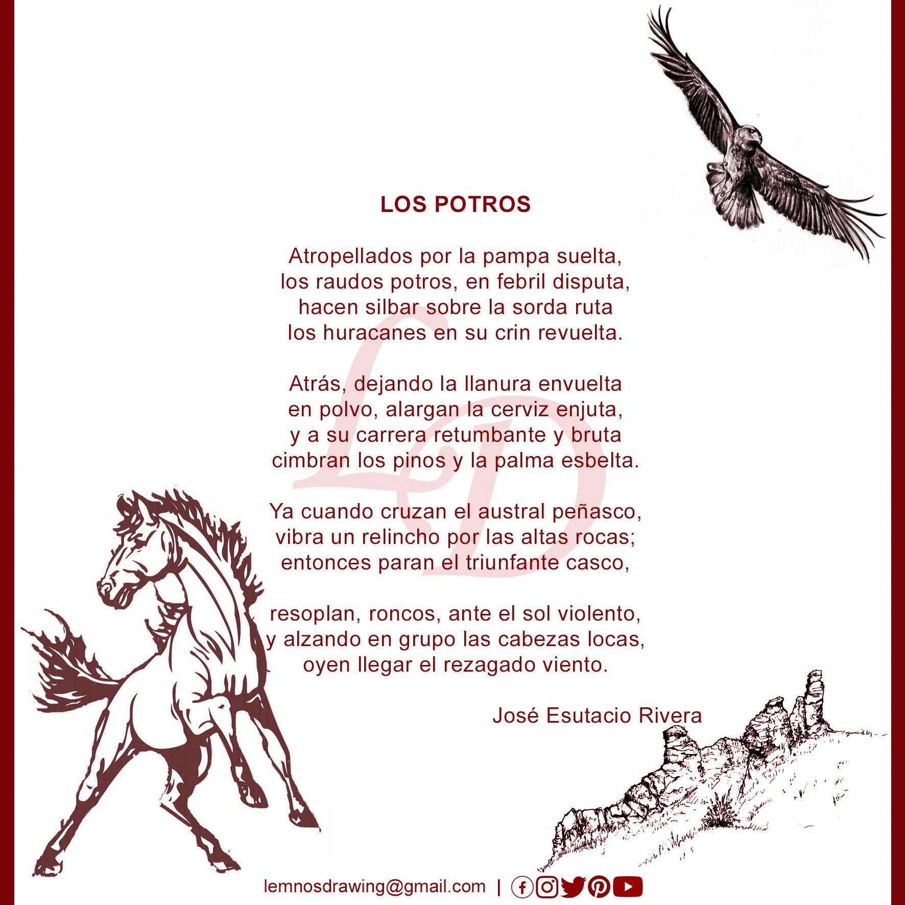 José Eustacio Rivera Sonetos Poesía Literatura