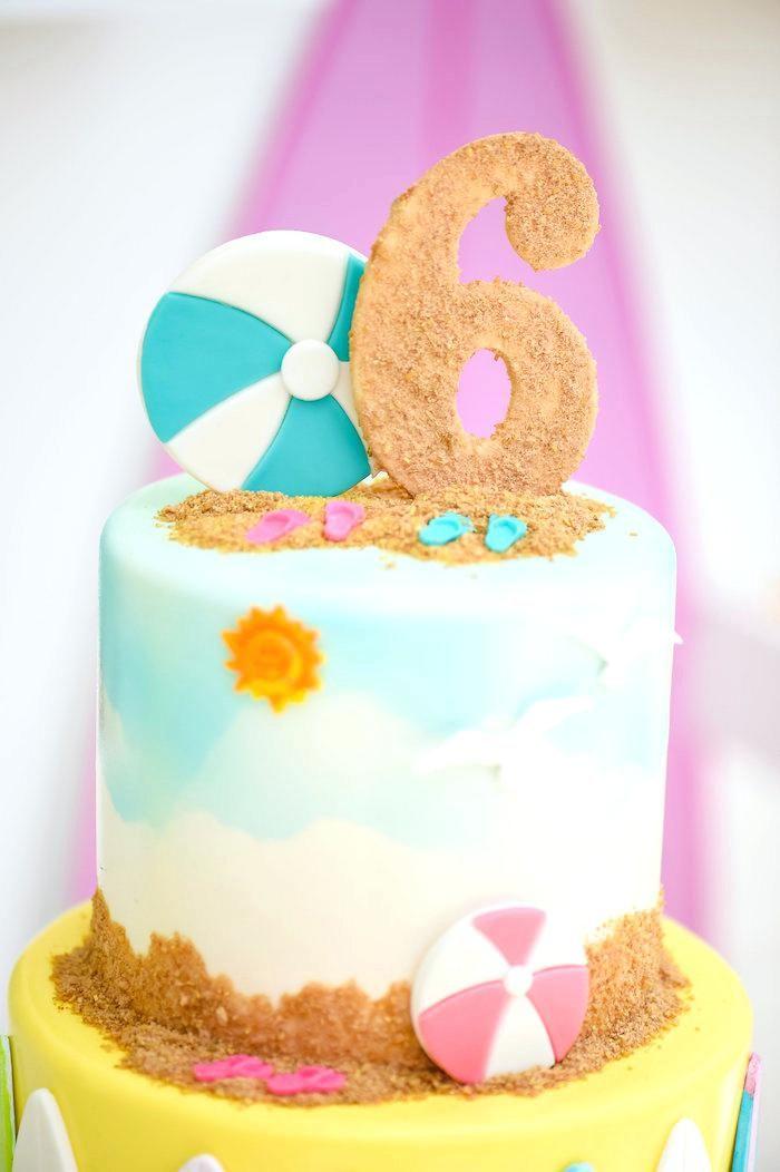Miami Beach Birthday Cake Recipe