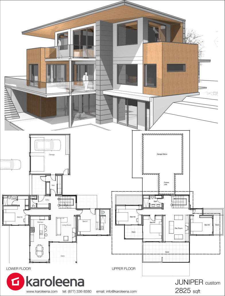 Check out these custom home designs view prefab and for Modern contemporary house plans
