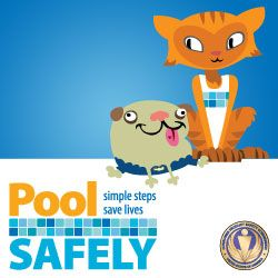 May is National Water Safety Month. Here at SwimmingPool.com, we want to provide you with information about how to stay safe in your swimming pool and spa. | Swimmingpool.com