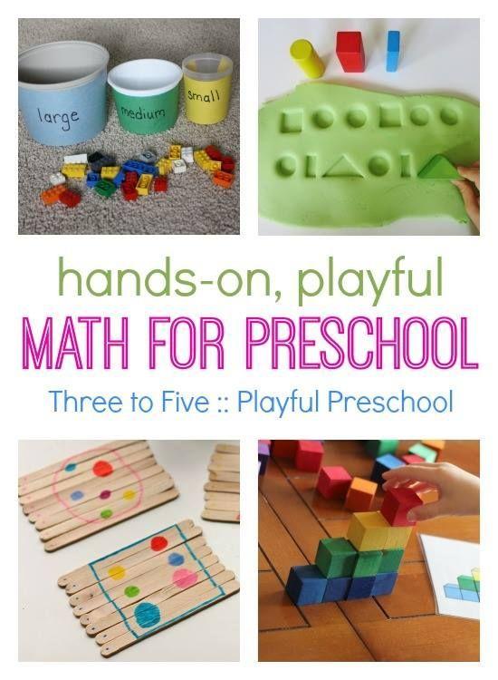 Three To Five Playful Preschool Preschool Activities