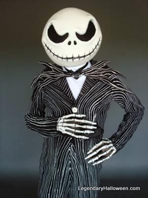 jack skeleton costume mask instructions cheap hard hat punch balloon paper mache - Halloween Jack Skeleton