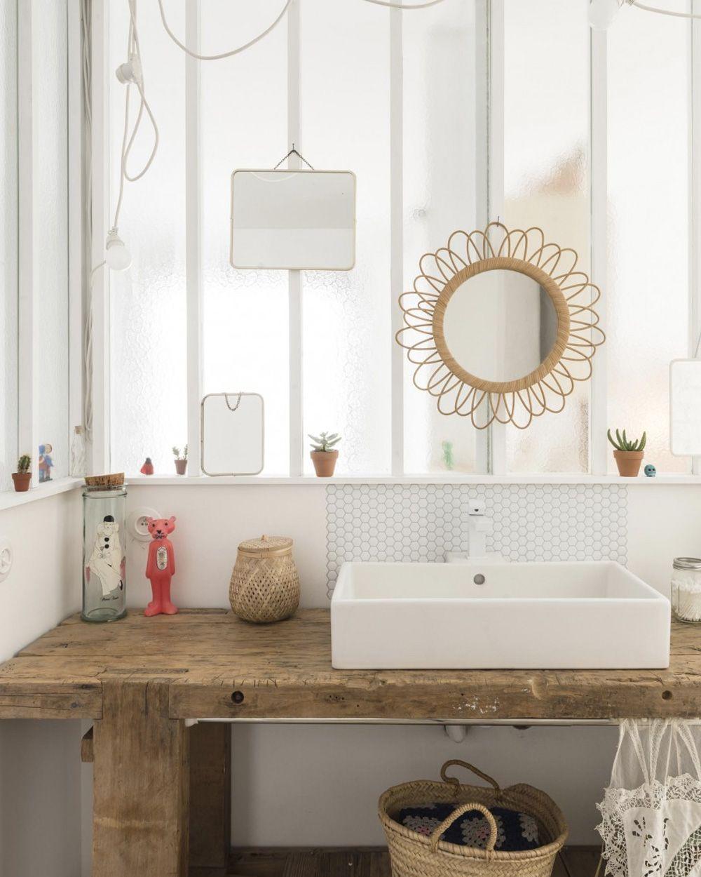 Une Maison De Plage Color E Bath Decoration And Spaces