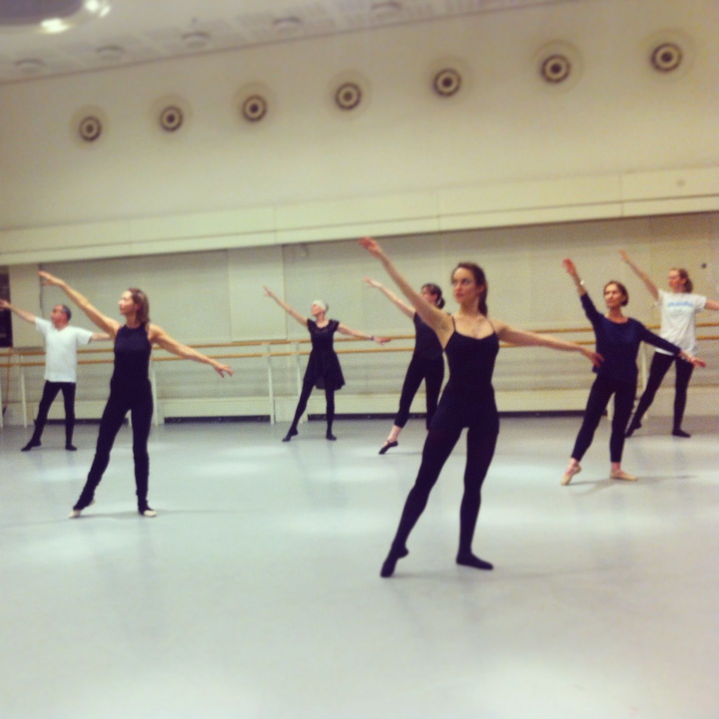 f8aa9ae72 Everybody Ballet adult intermediate ballet class at Royal Opera House.