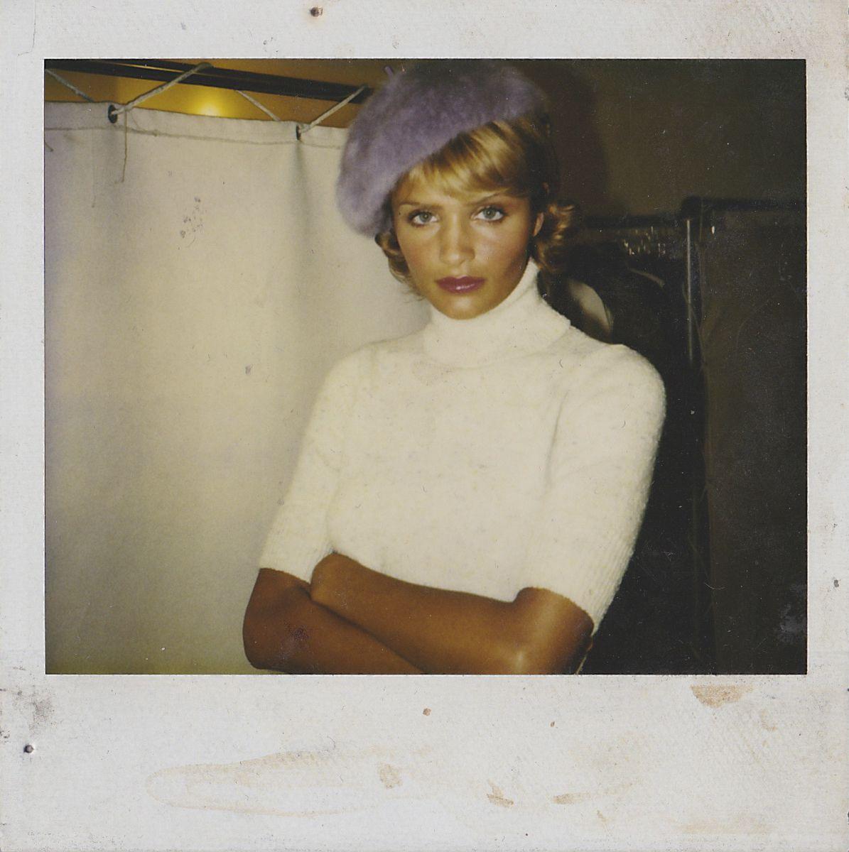 BLK #21: The Justin Henry scrapbook: Helena Christiansen on set shooting Mirabella magazine
