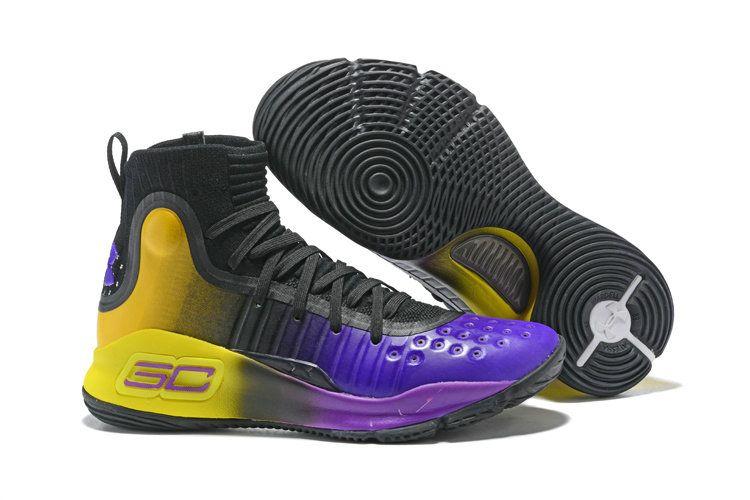 99032c61972 Shop 2018 UA Curry 4 More Rings Championship Pack black-purple ...