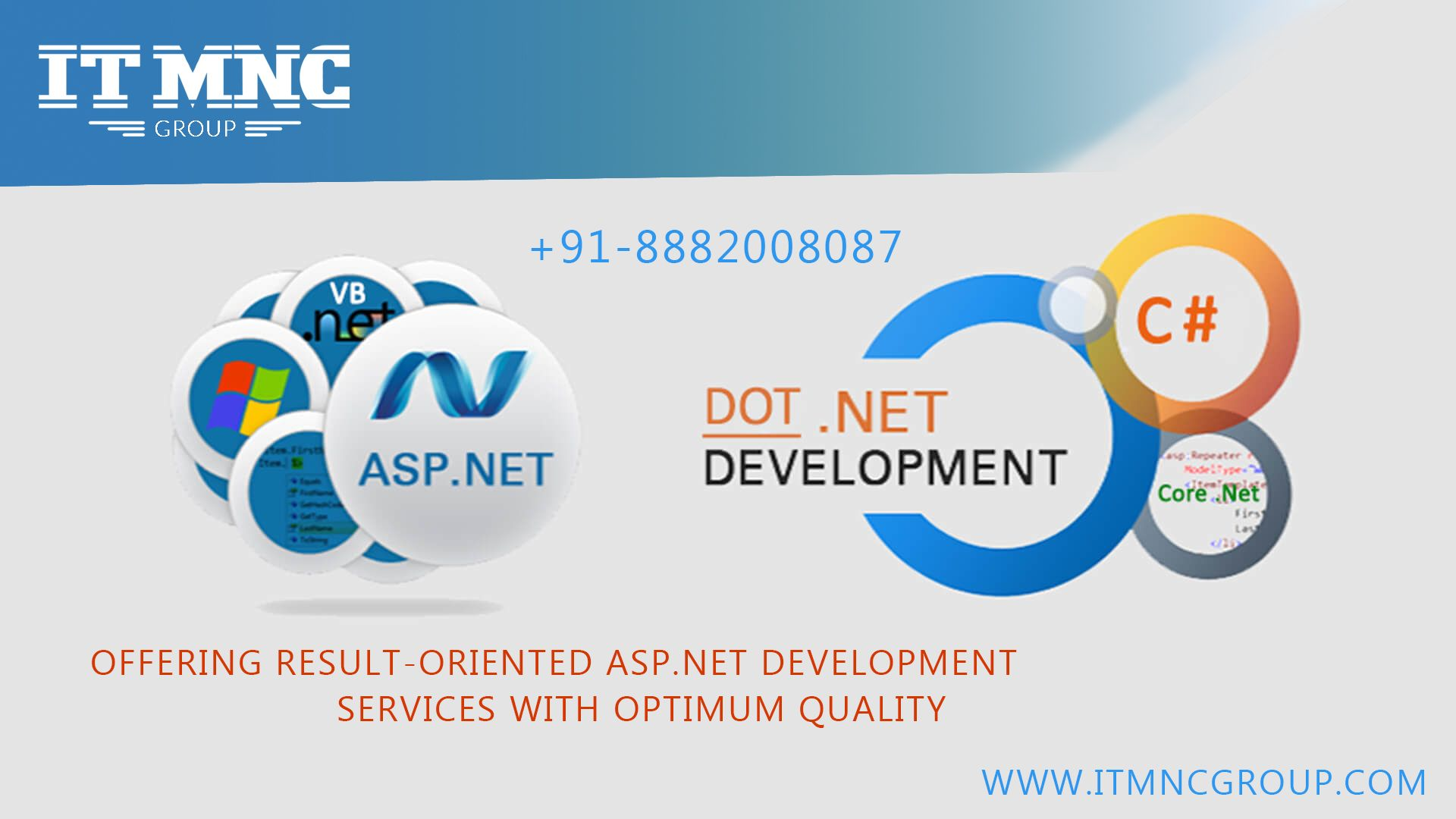 ASP  NET Development Company - ITMNC is a best asp  net