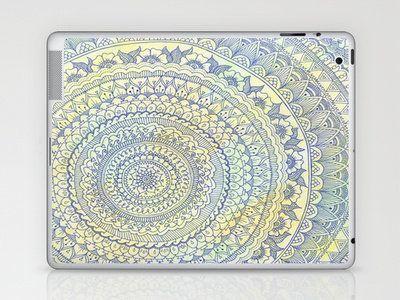 Mandala Doodle Laptop