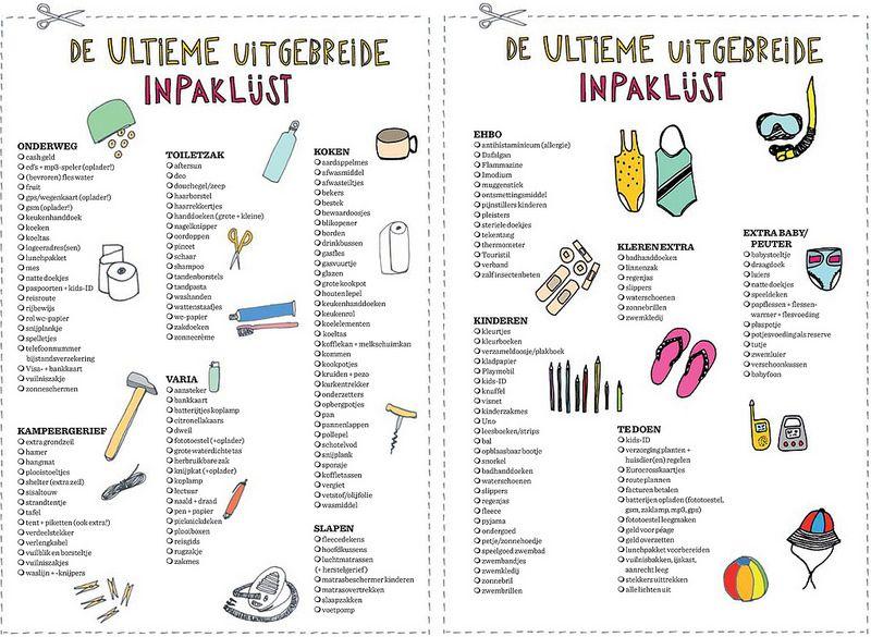 24bceda8b07 Mme Zsazsa vertelt: De Ultieme Uitgebreide Inpaklijst | holiday ...