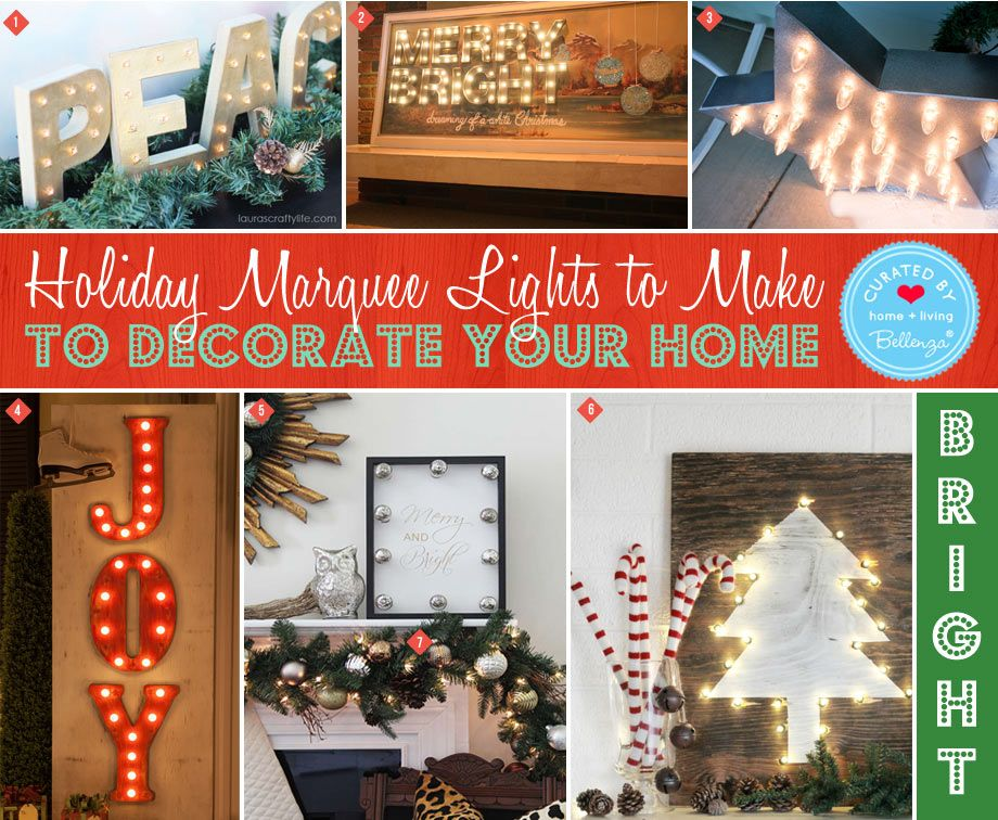 how to decorate a marquee cheaply