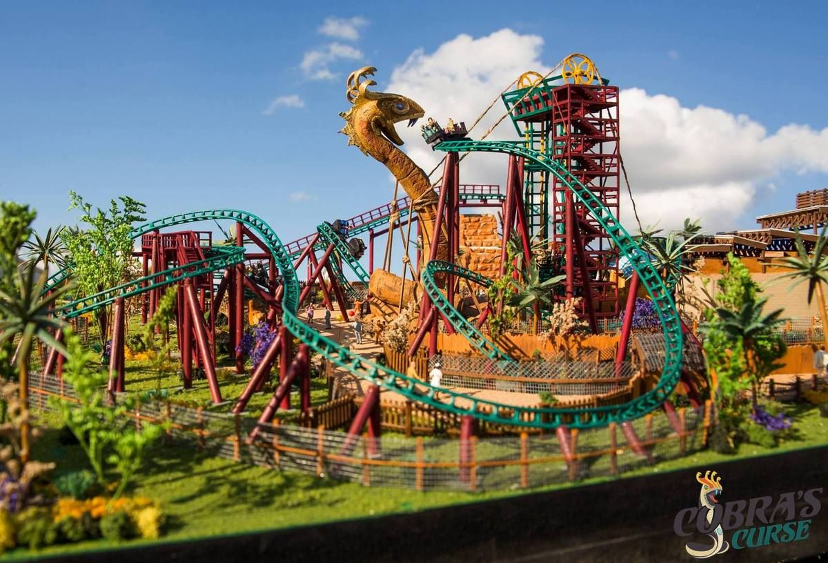 Busch Gardens Tampa (USA) Coaster, Floride et Animalier