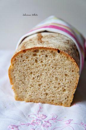 Delicious Titbits: Chleb pszenny na zakwasie