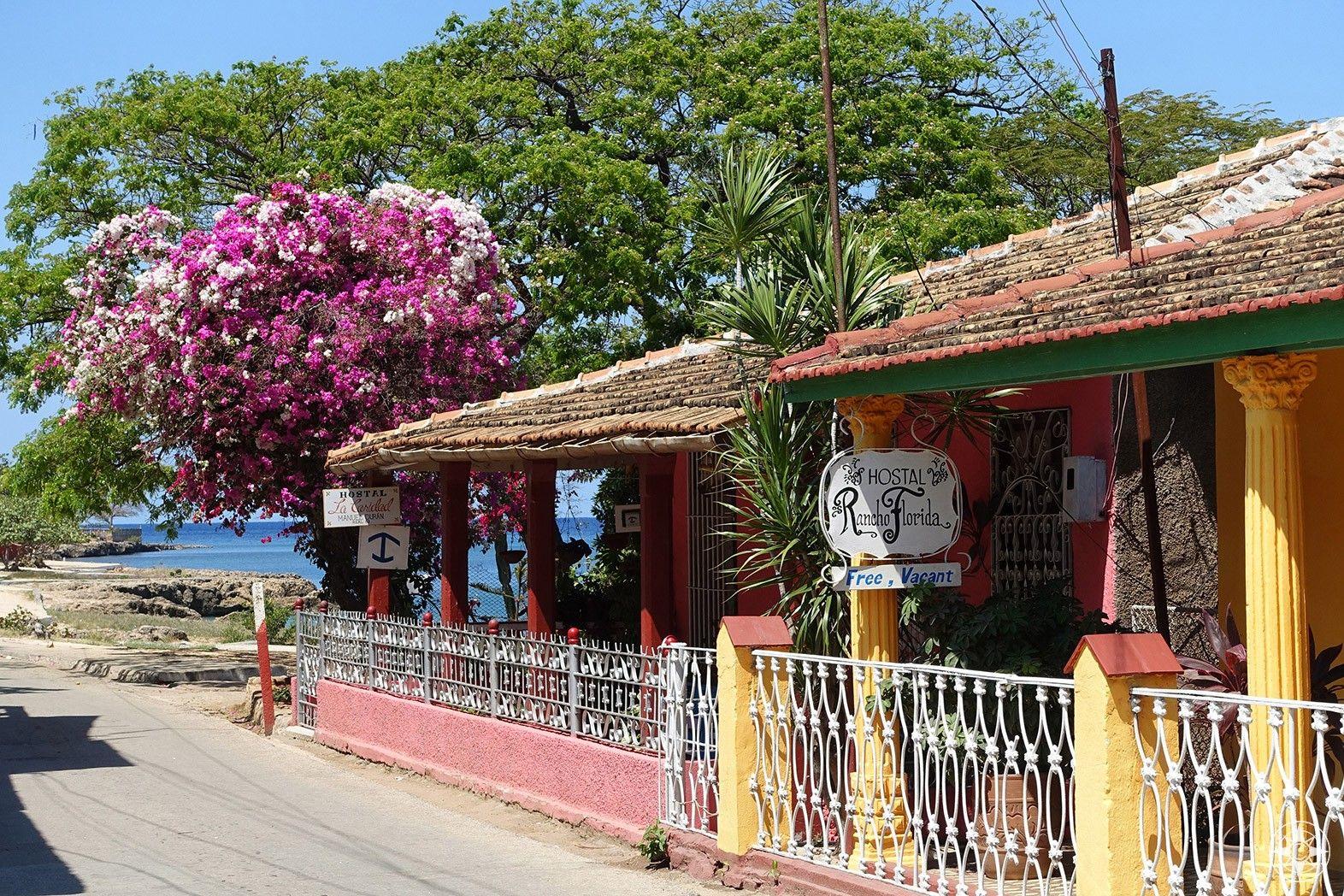 Charming caribbean seaside village la boca cuba
