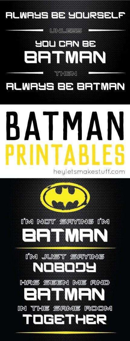 Free Batman Printables is part of Batman bedroom decor, Batman bedroom, Batman printables, Batman decor, Superhero room, Superhero bedroom - These free Batman printables are perfect for super hero birthday parties or kids' bedrooms