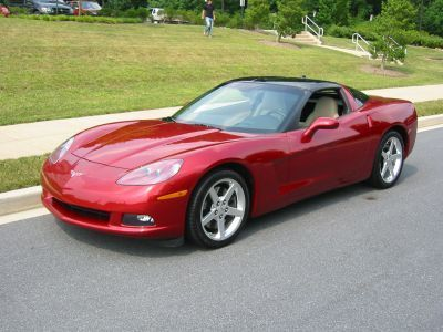 2005 Magnetic Red Corvette 3 404 Units