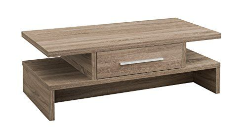 Iohomes Langford 1 Drawer Coffee Table Light Oak Family Home