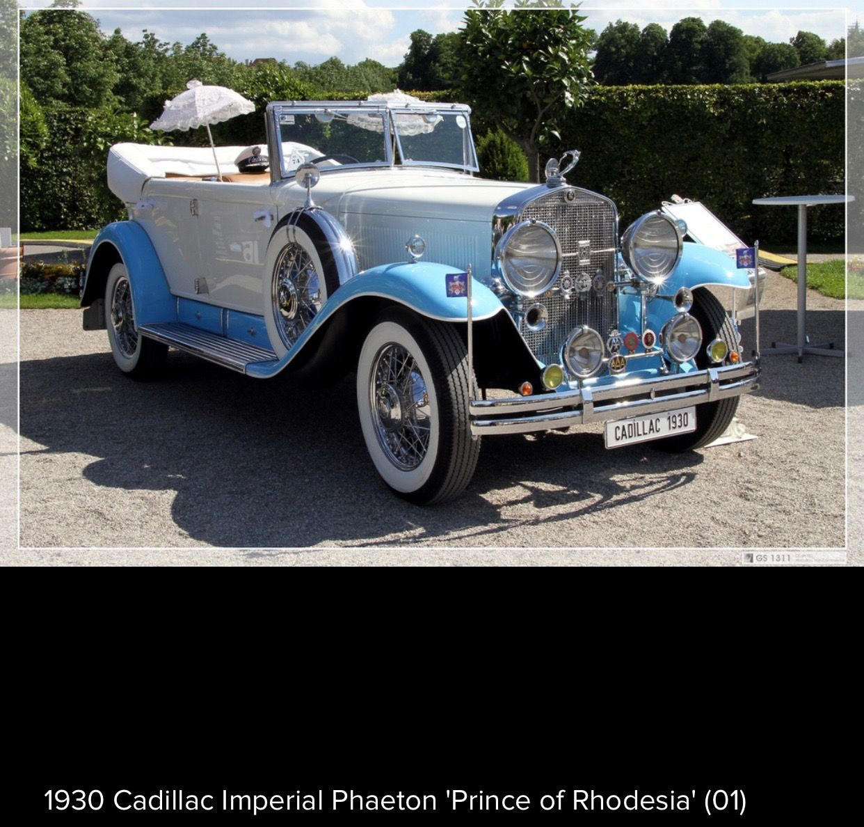 "1930 Cadillac Imperial Phaeton ""Prince of Rhodesia"" 