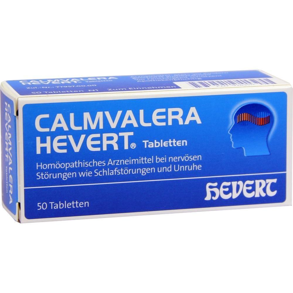 #CALMVALERA Hevert Tabletten rezeptfrei im Shop der pharma24 Apotheken