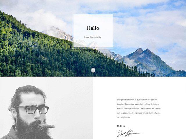 Bodo: A free HTML Personal / Portfolio template   (WEB) DISEÑO WEB ...