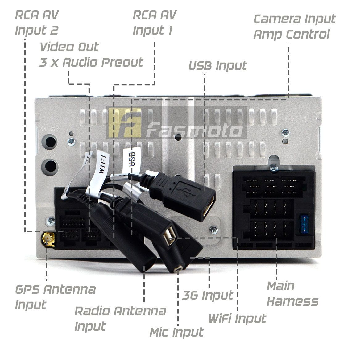 Blaupunkt Kimberley 941 6 75 Double Din Android 4 2 Os Wifi Phonelink Head Unit Blaupunkt Car Audio Car Audio Audio