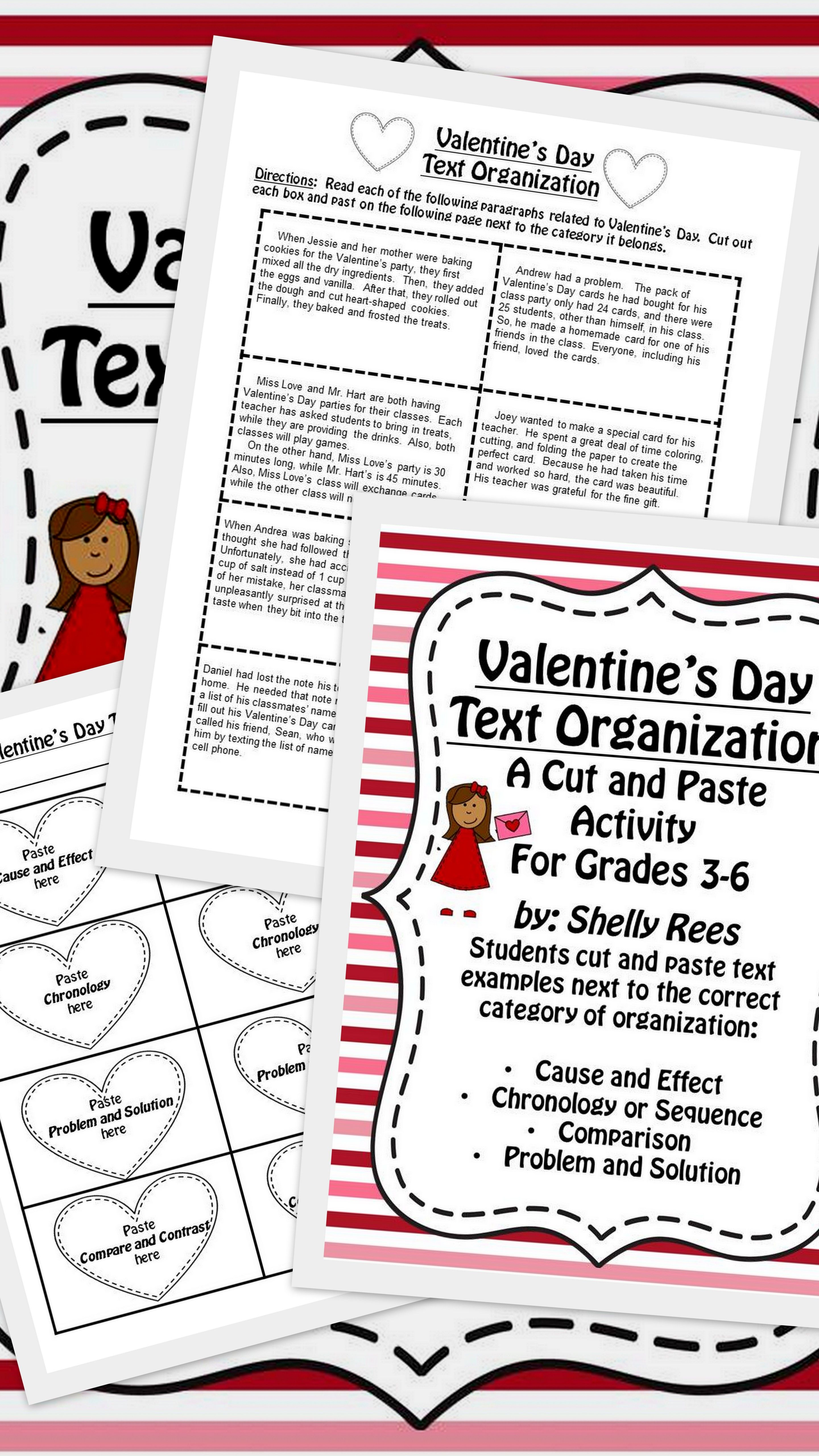Valentine S Day Reading Text Structure
