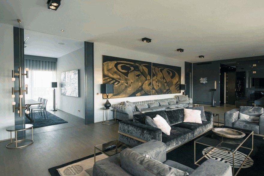 Monbijou Penthouse In Berlin Mitte Germany Luxury Penthouse
