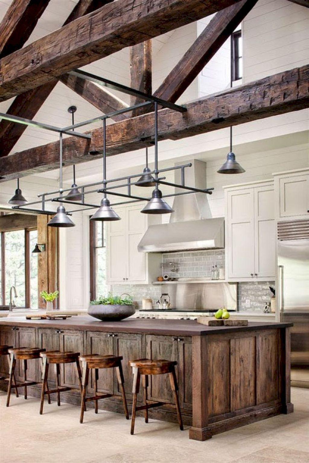Nice 55 Best Modern Farmhouse Kitchen Cabinets Remodel Ideas https ...