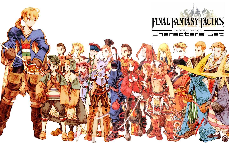 Pin On Final Fantasy Tactics