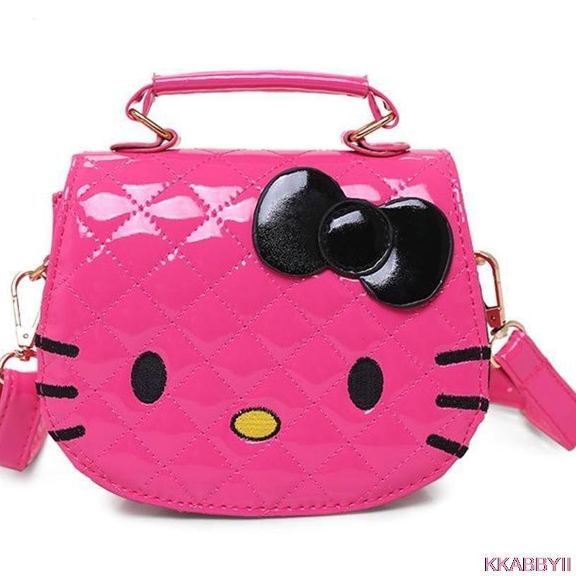 d93735d790 Hot new arrival Hello Kitty girl s princess Sequins bag wallet purse  portable messenger children handbag