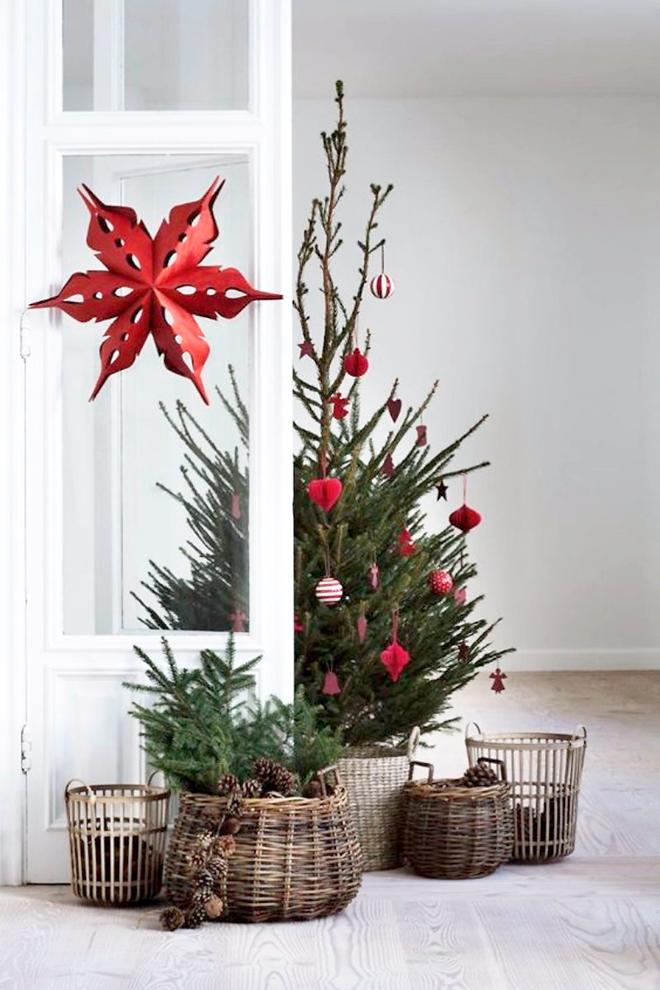 Ideas Para Nuestros Arboles De Navidad Arbol De Navidad Original Decoracion Navidad Arbol De Navidad