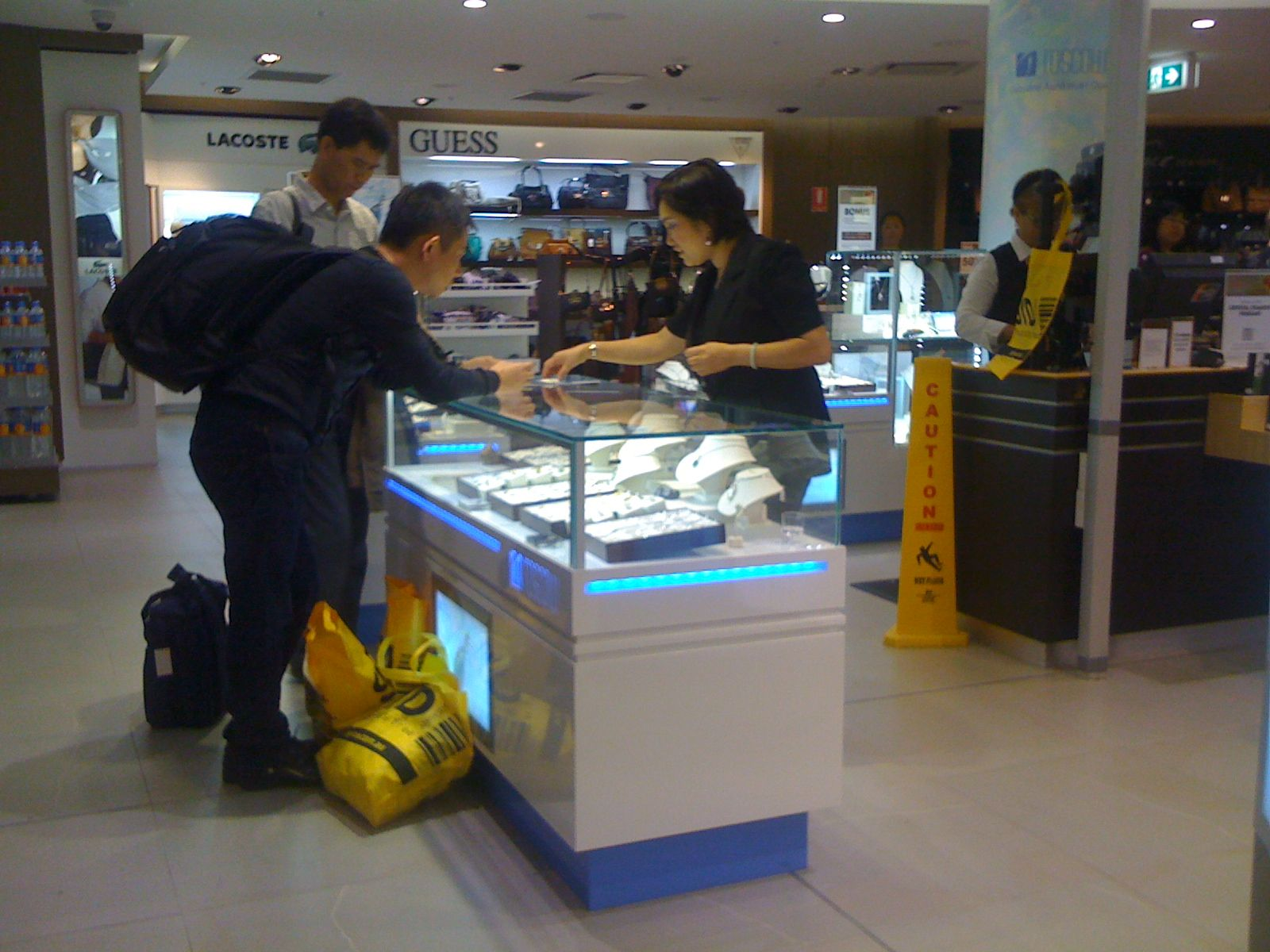 The Toscow Jewellery Counter At Sydney Airport Mega B Gets
